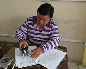 Frazier Guevara Presidente de la Càmara de Comercio