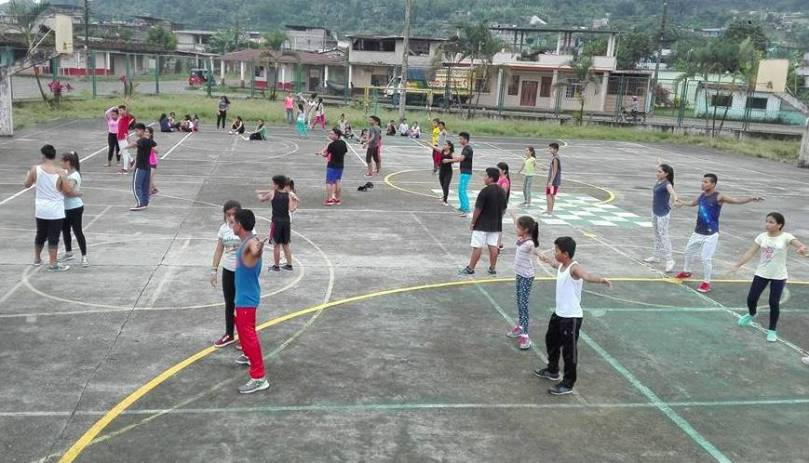 Repaso de la danza juvenil