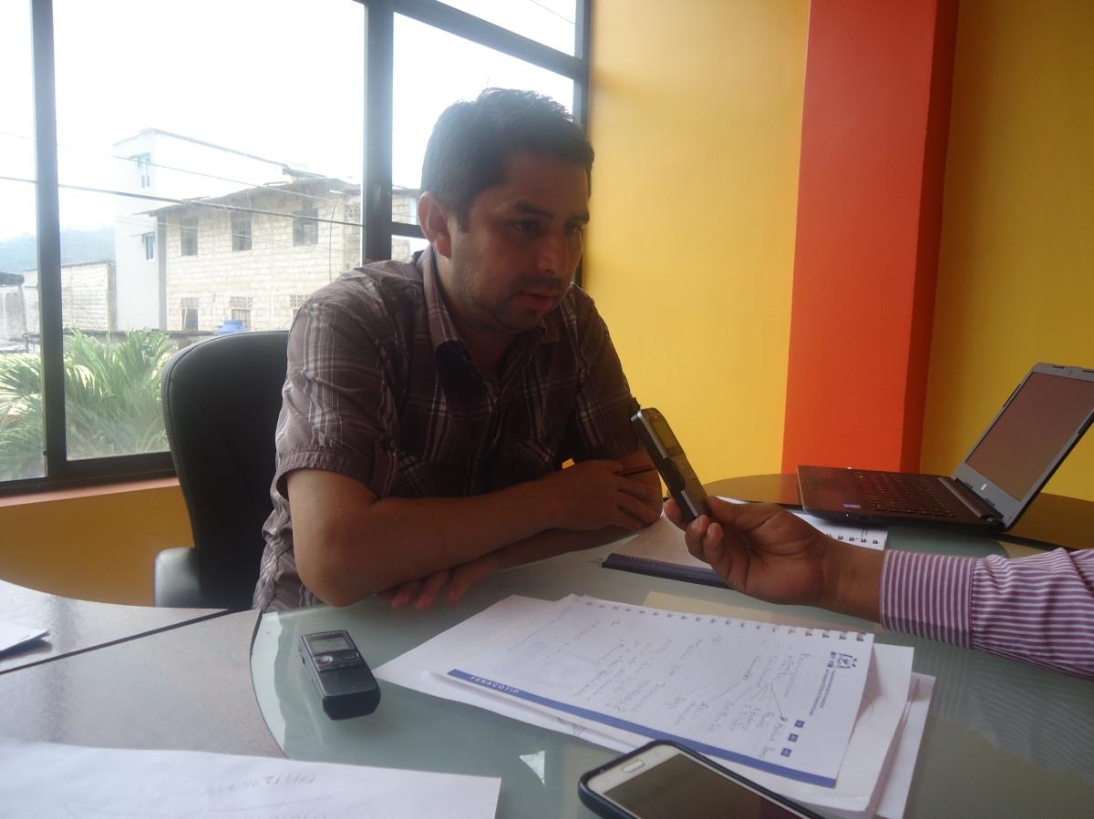 Geovanny Jiménez Miembro del Concejo de Administración de la Cooperativa Transportes